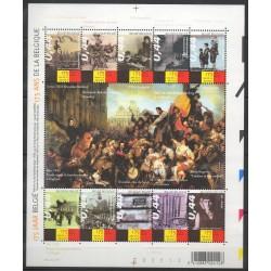 Belgique - 2005- No 3343/3352 - Histoire