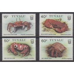 Tuvalu - 1986 - Nb 355/358 - Sea animals