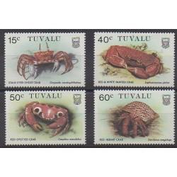 Tuvalu - 1986 - No 355/358 - Animaux marins