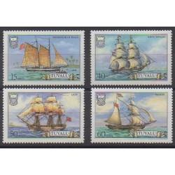 Tuvalu - 1986 - Nb 363/366 - Boats