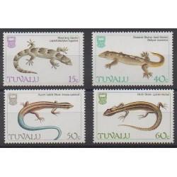 Tuvalu - 1986 - Nb 381/384 - Reptils