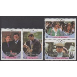 Tuvalu - 1986 - Nb 377/380 - Royalty