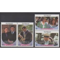 Tuvalu - 1986 - No 377/380 - Royauté - Principauté