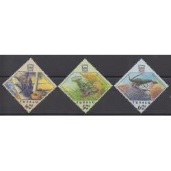 Tuvalu - 1987 - No 461/463 - Animaux marins
