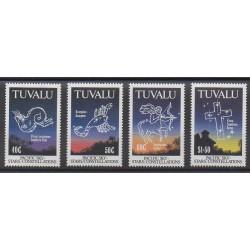 Tuvalu - 1992 - Nb 579/582 - Astronomy