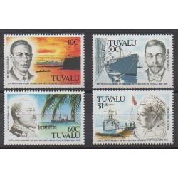 Tuvalu - 1992 - No 583/586 - Histoire