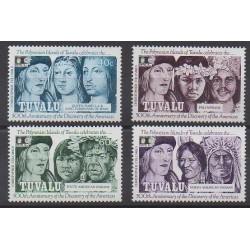 Tuvalu - 1992 - No 587/590