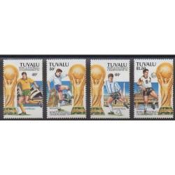 Tuvalu - 1994 - No 653/656 - Coupe du monde de football
