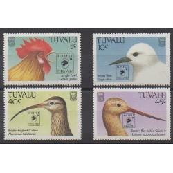 Tuvalu - 1994 - No 661/664 - Oiseaux - Philatélie