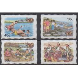 Tuvalu - 1994 - No 669/672 - Noël