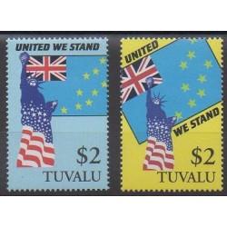 Tuvalu - 2002 - No 910/911