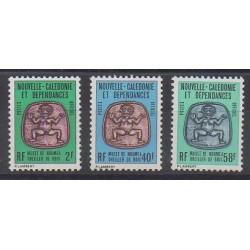 Nouvelle-Calédonie - Timbres de service - 1986 - No S38/S40