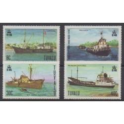Tuvalu - 1978 - Nb 63/66 - Boats