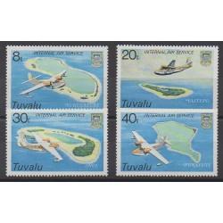 Tuvalu - 1979 - Nb 115/118 - Planes