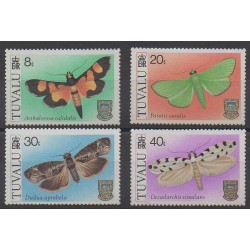 Tuvalu - 1980 - No 135/138 - Insectes
