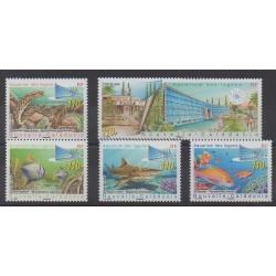 New Caledonia - 2007 - Nb 1019/1023 - Sea animals