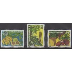 Nouvelle-Calédonie - 2007 - No 1026/1028 - Fruits ou légumes