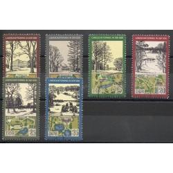 Allemagne orientale (RDA) - 1981- No 2266/2271 - Sites - Oblitéré