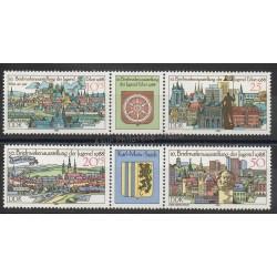 Allemagne orientale (RDA) - 1988- No 2786/2789