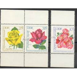 East Germany (GDR) - 1972- Nb 1468/1469A - Roses