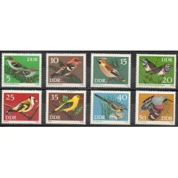 Allemagne orientale (RDA) - 1973- No 1531/1538 - Oiseaux