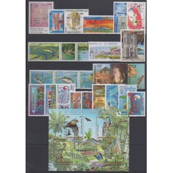 New Caledonia - Complete year - 2010 - Nb 1091/1118 (timbres gommés uniquement) - BF42