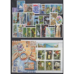 Nouvelle-Calédonie - Année complète - 2007 - No 993/1033 - BF37