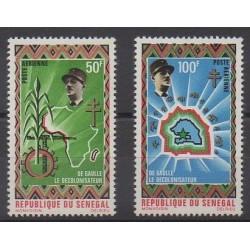 Sénégal - 1971 - No PA98/PA99 - De Gaulle