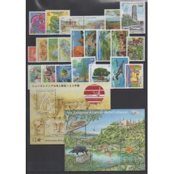 New Caledonia - Complete year - 2012 - Nb 1141/1168 (timbres gommés uniquement)