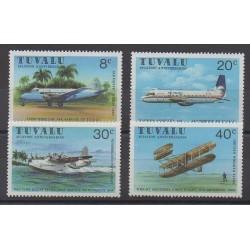 Tuvalu - 1980 - No 139/142 - Aviation