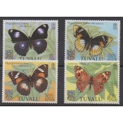 Tuvalu - 1981 - No 143/146 - Insectes