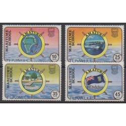 Tuvalu - 1982 - Nb 163/166 - Boats