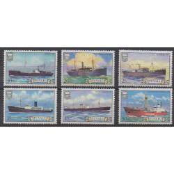 Tuvalu - 1984 - Nb 217/222 - Boats