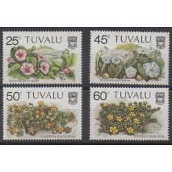 Tuvalu - 1984 - Nb 235/238 - Flowers