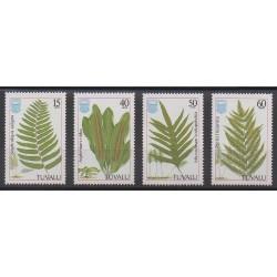 Tuvalu - 1987 - Nb 444/447 - Flora