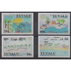 Tuvalu - 2010 - No 1396/1399 - Dessins d'enfants