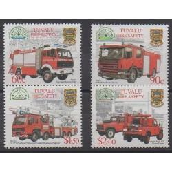 Tuvalu - 2001 - No 890/893 - Pompiers