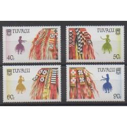 Tuvalu - 1989 - No 511/514 - Costumes