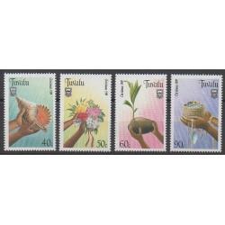 Tuvalu - 1989 - No 523/526 - Noël