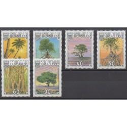 Tuvalu - 1990 - Nb 527/532 - Trees