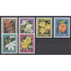Tuvalu - 1990 - Nb 536/541 - Flowers
