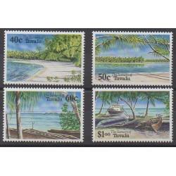 Tuvalu - 1994 - No 645/648 - Sites