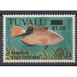 Tuvalu - 1996 - Nb 697 - Sea animals