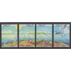 Tuvalu - 1993 - Nb 637/640 - Environment