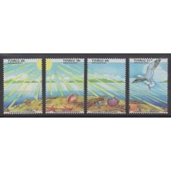 Tuvalu - 1993 - No 637/640 - Environnement
