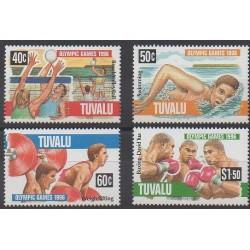 Tuvalu - 1996 - No 698/701 - Jeux Olympiques d'été