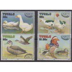 Tuvalu - 1997 - No 722/725 - Oiseaux