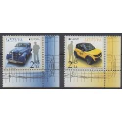 Lithuania - 2013 - Nb 983/984 - Postal Service - Europa