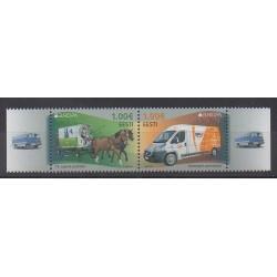 Estonie - 2013 - No 705/706 - Service postal - Europa