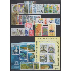 New Caledonia - Complete year - 2008 - Nb 1034/1060 - BF38/BF39